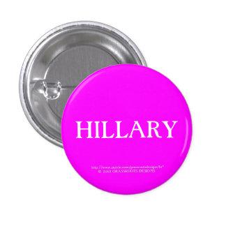 Hillary Pinback Buttons