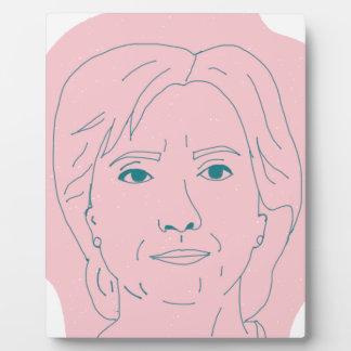 Hillary Plaque
