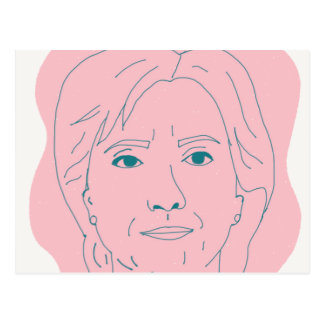 Hillary Postcard