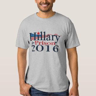 Hillary pour la chemise 2016 de prison tshirt
