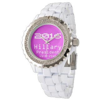 Hillary President 11-8-2016 Wristwatch