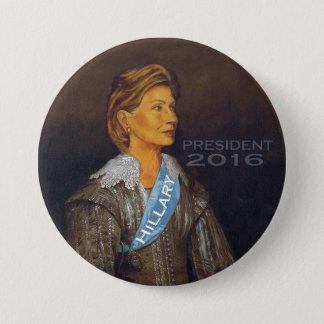 HILLARY PRESIDENT 2016 3 INCH ROUND BUTTON