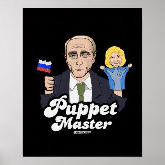 Hillary Puppet Master - Vladimir Putin - Poster