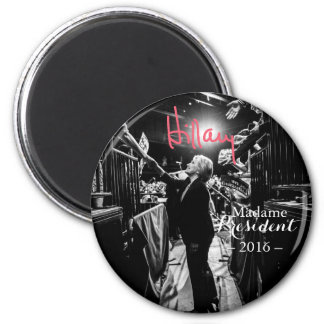 Hillary Rodham Clinton Madame President Magnet