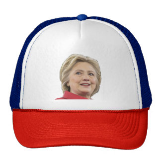 Hillary Rodham Clinton Red, White, and Blue Cap Trucker Hat