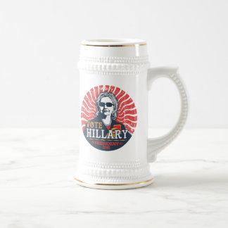 Hillary Shades Beer Stein