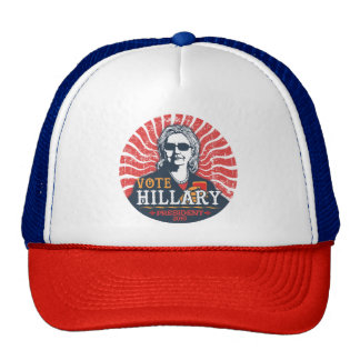 Hillary Shades Trucker Hat