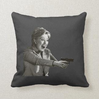 Hillary Shooter Throw Pillow