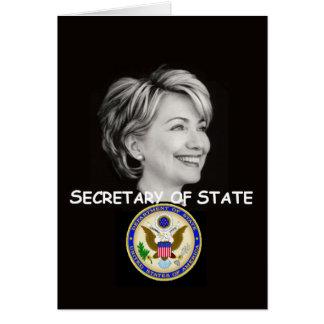 Hillary  State Card