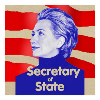 Hillary State Poster