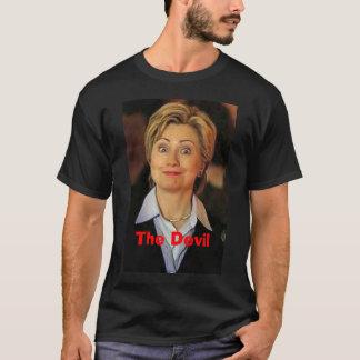 Hillary, The Devil T-Shirt