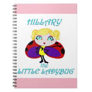 HILLARY THE LITTLE LADYBUG NOTEBOOK