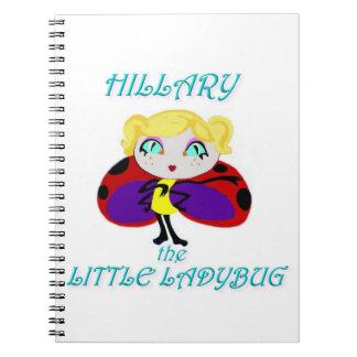 HILLARY THE LITTLE LADYBUG NOTEBOOKS