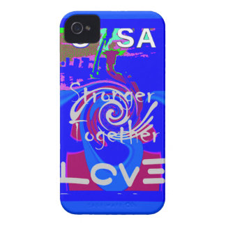 Hillary USA President Stronger Together spirit iPhone 4 Case