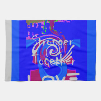 Hillary USA President Stronger Together spirit Kitchen Towels