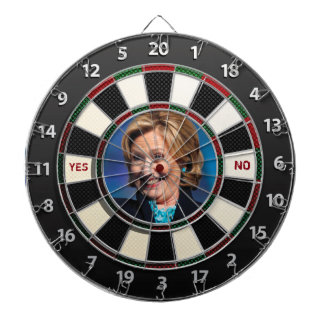 Hillary YES or NO Dartboard