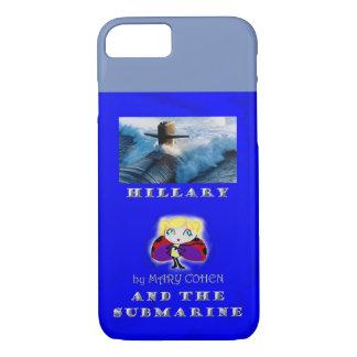 hillaryandthesubmarinebookcover iPhone 8/7 case