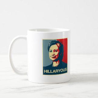 HILLARYOUS - Anti-Hillary Poster - - Anti-Hillary  Coffee Mug