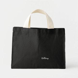 Hillary's canvas bag