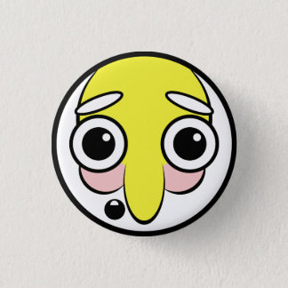 Hillbilly Face 1 Inch Round Button