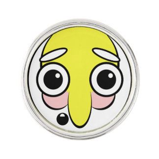 hillbilly Face Lapel Pin
