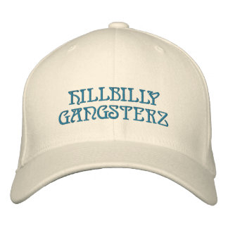 HILLBILLY GANGSTERZ EMBROIDERED HATS