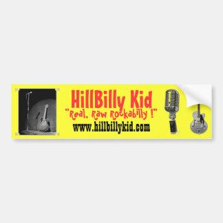 HillBilly Kid Bumper Sticker