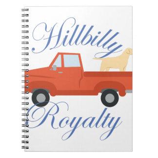 Hillbilly Royalty Spiral Notebook