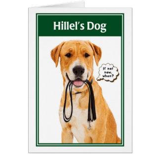 Hillel's Dog Funny Bar/Bat Mitzvah Card