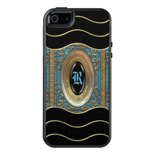 Hillgate Bleu Victorian Girly V Monogram OtterBox iPhone 5/5s/SE Case