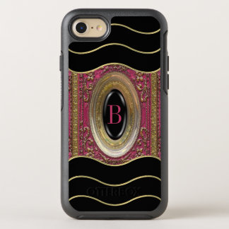 Hillgate Charmer Victorian Girly  Monogram OtterBox Symmetry iPhone 7 Case