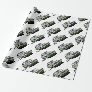 Hillman Imp Wrapping Paper