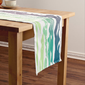 Hills Above the Clouds Landscape Short Table Runner