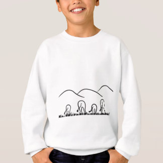 Hills and  grazing sweatshirt