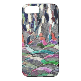 Hills and Mountains Abstract Watercolor iPhone 7 Case