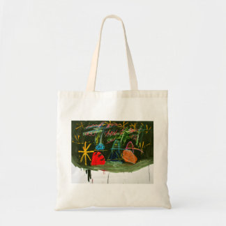 Hills and Trees at Night by Johnny Tote Bag