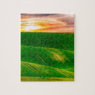 Hills countryside sky rural jigsaw puzzle
