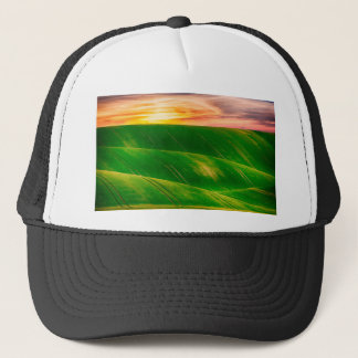 Hills countryside sky rural trucker hat