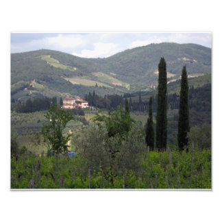 Hills of Chianti Photo Print