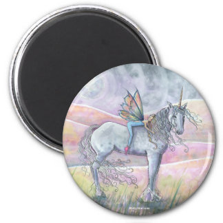 Hills of Enchantment Fairy and Unicorn Magnet