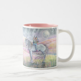Hills of Enchantment Fairy Unicorn Mug