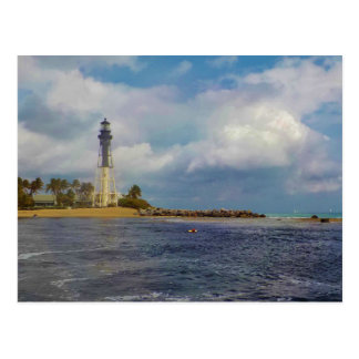 Hillsboro Inlet Light Custom Postcard