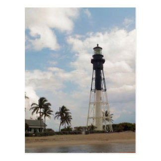 Hillsboro Inlet Light Tower Custom Postcard