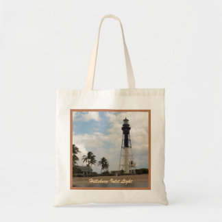 Hillsboro Inlet Light Tower Custom Tote Bag