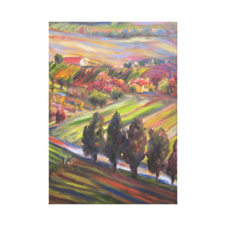 Hillside Dreams Stretched Canvas Prints