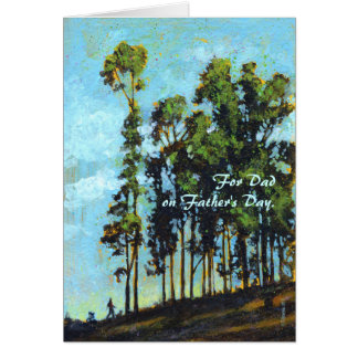 Hillside Father's Day Personalized Card