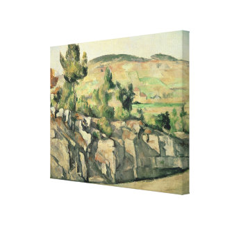 Hillside in Provence, c.1886-90 Canvas Print