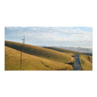 Hillside Landscape Photo Card