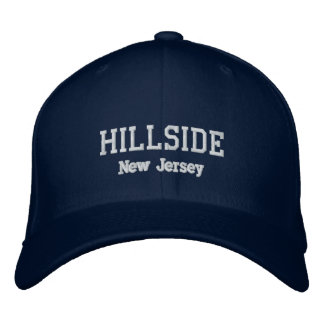 Hillside New jersey Embroidered Hats