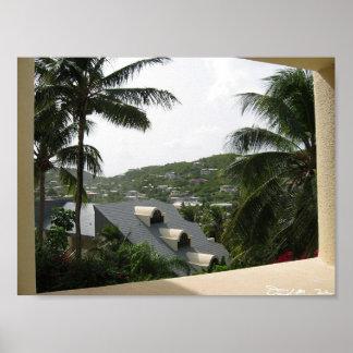 Hillside Overlook Poster
